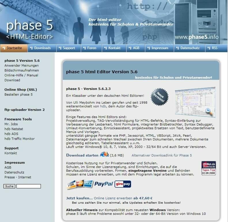Программа Phase5