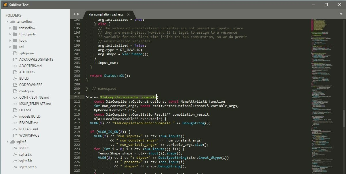 Блокнот Sublime Text 2