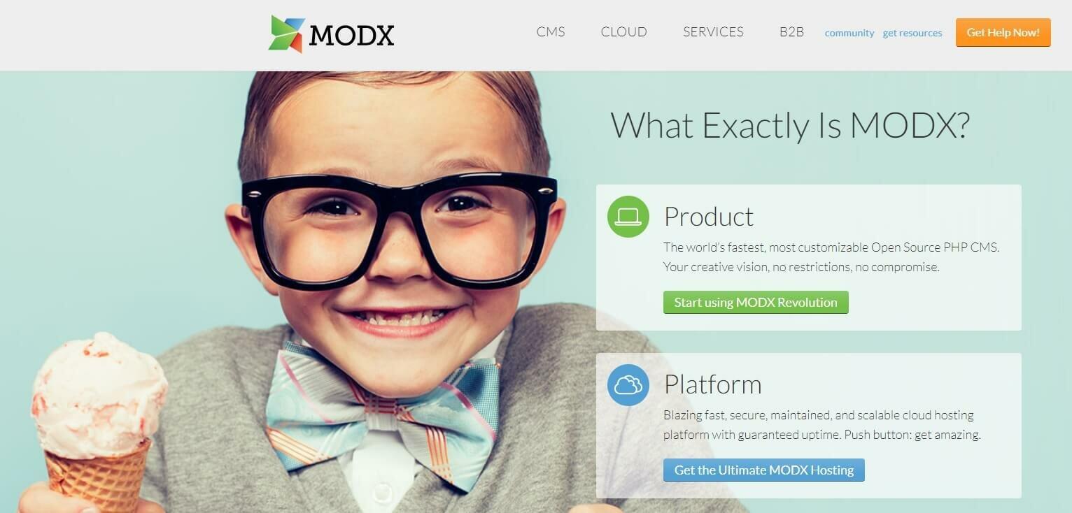 Движок MODx