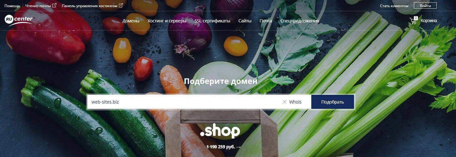 Регистратор nic.ru